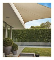 TOLDO VELA SOMBREO 'EVERYDAY SAIL' TRIANGULAR 3,6 M TIERRA 205GR
