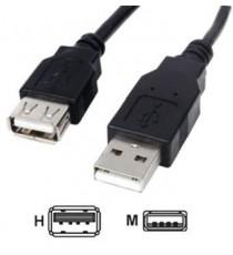 CABLE USB 2.0 MACHO-HEMBRA 5 M