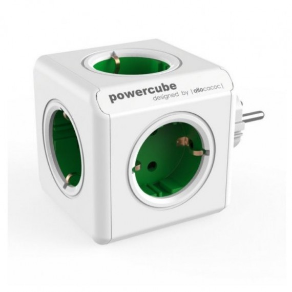 POWERCUBE ORIGINAL REGLETA BLANCO/VERDE ALLOCACOC