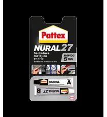 Nural 27 Soldadura metálica en frío rápida PATTEX