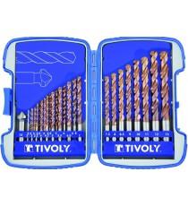 Tivoly 11454170002 Juego de brocas HSS Fusio Bumper 2 - 13 Set de 26 Piezas