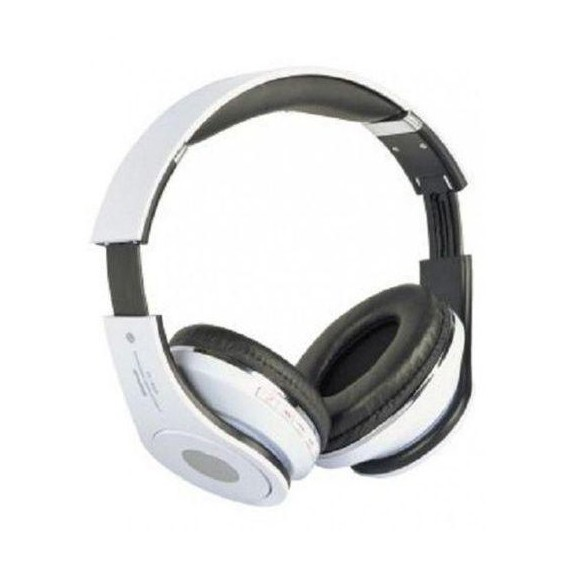 Auricular Bluetooth Stereo Con Reproductor MP3 Blanco STN-10