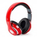 Auricular Bluetooth Stereo Con Reproductor MP3 Rojo STN-10