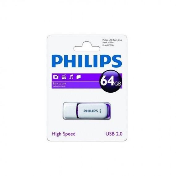 MEMORIA USB 2,0 PHILLIPS 64GB