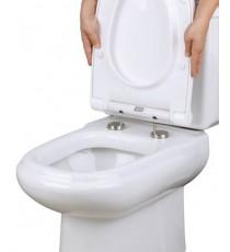 Asiento WC con Tapa Blanco Softclose Plastisan Alba 14301