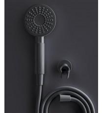 Plastisan One Kit Teléfono Ducha Gris 20008
