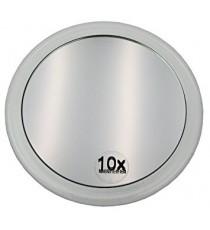 Espejo Baño Aumento con Ventosas 15 cm Aumento x10