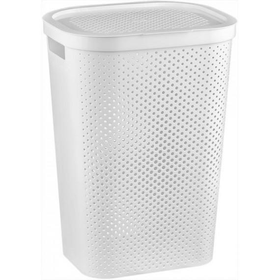 Pongotodo Plástico Blanco 60 Litros Curver Infinity