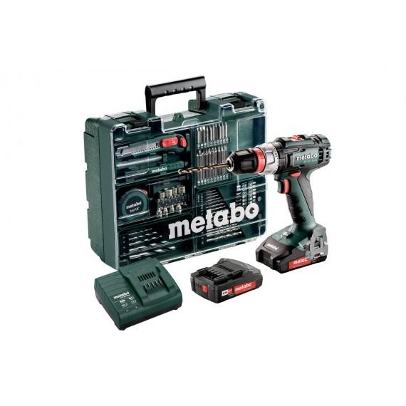 Taladradora Atornilladora de Batería más Taller Portátil con Maletín Profesional. Metabo BS 18 L Quick Set 602320870