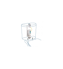 Mecanismo de Descarga Doble Pulsador con Cable Cisterna W.C Orfesa