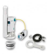 Mecanismo de Descarga Doble Pulsador con Cable Cisterna W.C Plastisan 00610