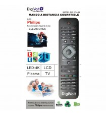 Mando a Distancia para Televisores Philips Negro