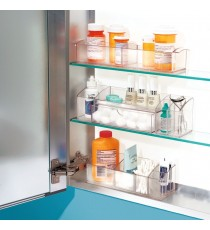Organizador Médico Plastico Transparente InterDesign 42730