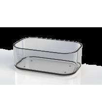 Bandeja Organizadora Nº 2 Transparente Plástico 0,425 L