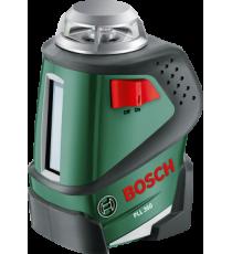 Nivel Láser PLL 360 con Barra Telescópica TP 320 y Soporte marca Bosch