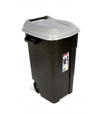 Contenedor de Residuos Negro 120 Litros