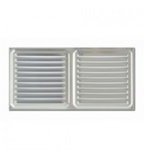 Rejilla de Ventilación Horizontal Aluminio 150 MM x 300 MM
