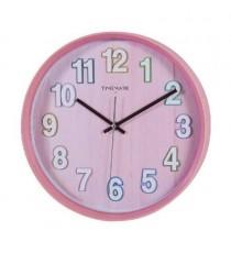 Reloj Pared Rosa Timemark 1982