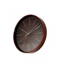 Reloj de pared Madera Wengué