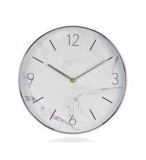 Reloj de Pared Mármol Blanco
