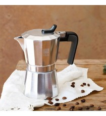Cafetera Aluminio 3 Tazas Bra Deluxe
