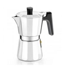 Cafetera Aluminio Induccion 6 Tazas Bra Perfecta