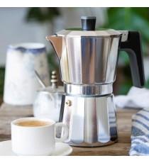 Cafetera Aluminio Induccion 9 Tazas Bra Perfecta