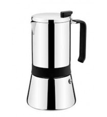 Cafetera Acero Inoxidable 4 Tazas Aroma