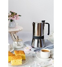 Cafetera Acero Inoxidable 6 Tazas Aroma