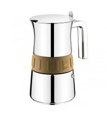 Cafetera Acero Inoxidable 6 Tazas Bra Elegance