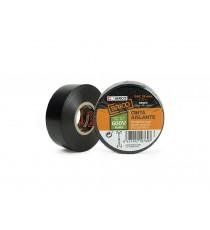 Cinta Aislante de PVC Negro 19 MM x 20 M