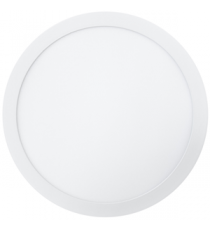 PANEL LED DE SUPERFICIE REDONDO BLANCO 28W 6000K Ø 30 CM