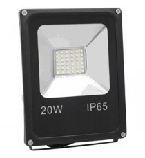 FOCO EXTERIOR LED SMD 20W LUZ BLANCA 6000K