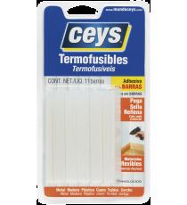 Adhesivo en Barras Termofucibles Ceys Translúcidas
