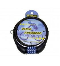 Cable Antirrobo de Combinación 80 CM