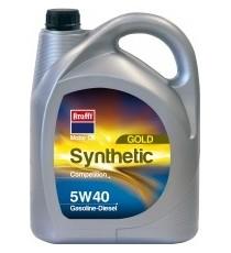 Aceite Sintético 5w40 Krafft 5 L