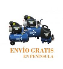 Compresor de Pistón Sin Aceite Fisalis 1,5 CV 6 Litros 8 Bar CIBE-LESS