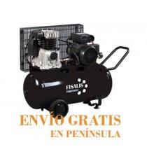 Compresor de Pistón Fisalis 3 CV 50 Litros 10 Bar CCM-350