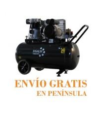 Compresor de Pistón Fisalis 3 CV 90 Litros 10 Bar CCM-3100