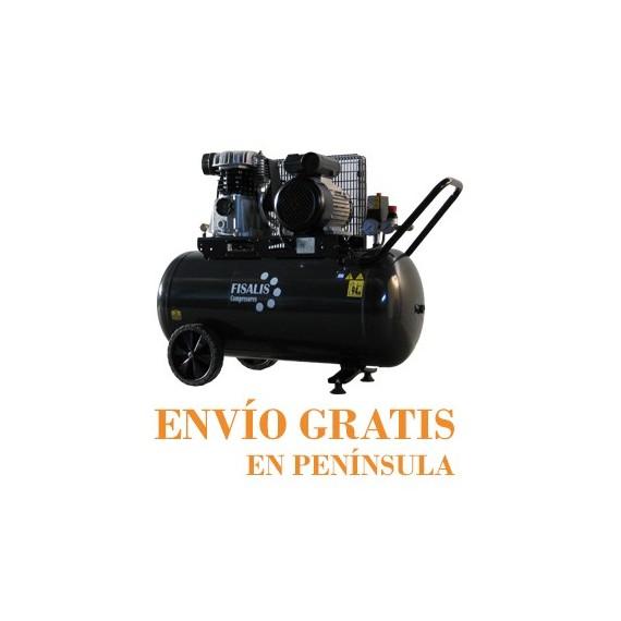 Compresor de Pistón Fisalis 3 CV 200 Litros 10 Bar PCT-3200