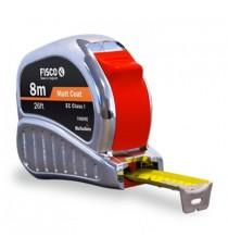 Flexómetro 5 Metros Fisco Tri Matic Inox