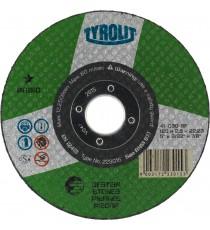 Disco Corte Piedra/Hormigón 125x2.5x22.23 Mm BASIC TYROLIT