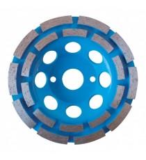 Plato Diamantado 2 Pistas para Hormigón 115 MM x 22,23 MM