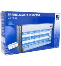 Parrilla Mata Insectos Eléctrica 2 X 15 W