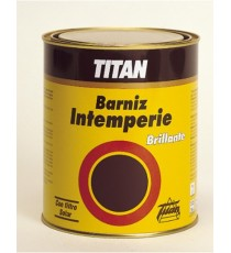 Barniz Intemperie Brillante 125 ML Titan