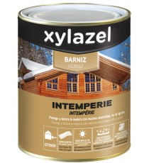 Barniz Intemperie Incoloro Brillante 750 ML Xylazel
