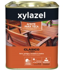 Aceite Para Maderas de Teca Clasico Color Teca 750 ML
