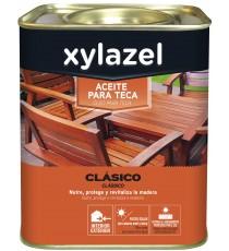 Aceite Para Maderas de Teca Clasico Color Miel 750 ML