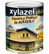 Barniz Lasur Decoración Caoba Mate 375 ML