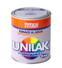 Esmalte Al Agua Satinado Multisuoperficies Gris Perla 1421 750 ML Titanlux